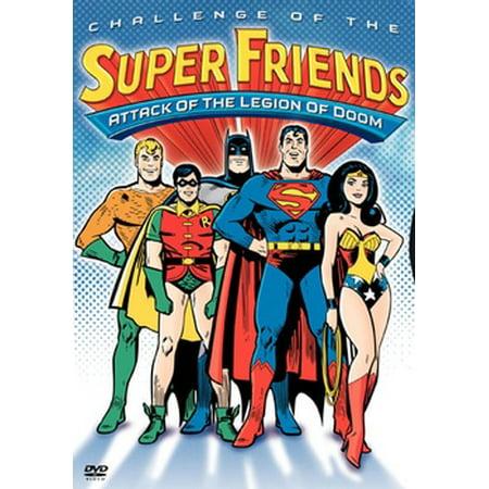 Challenge Of The Super Friends: Attack Of The Legion Of Doom (DVD) Blue Angels Super Hornet