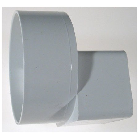 Genovaproducts Pvc Offset Downspout Adapter Walmart Com