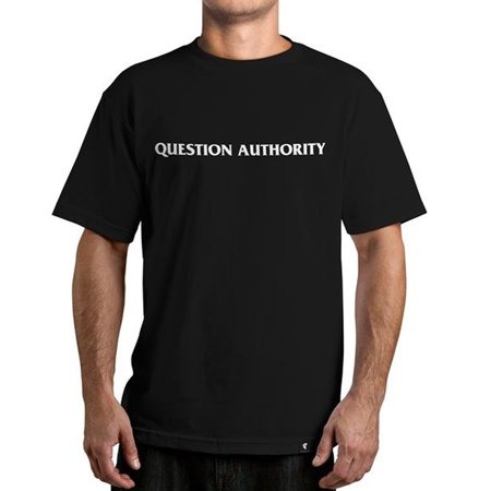 Famous Stars & Straps Men's Question Authority T-Shirt - Famous Stars And Straps Clearance