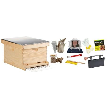 Little Giant Farm and Ag HIVE10KIT 10-Frame Beginner Hive Kit