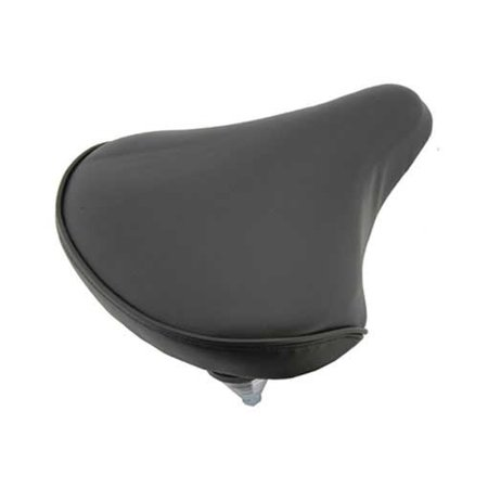 Beach Cruisers Saddle 209 Black. Bike seat, bicycle seat, Bike part, bicycle part, beach cruiser seat, chopper fixie,