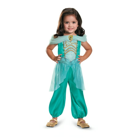 Jasmine From Aladdin Toddler Girls Costume DIS82893 - 2T