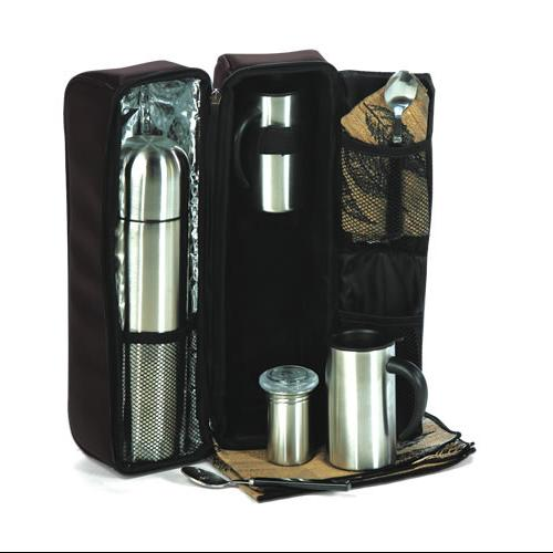 The Ultimate Travel Coffee Set for 2 with Case and Accessories - Espresso