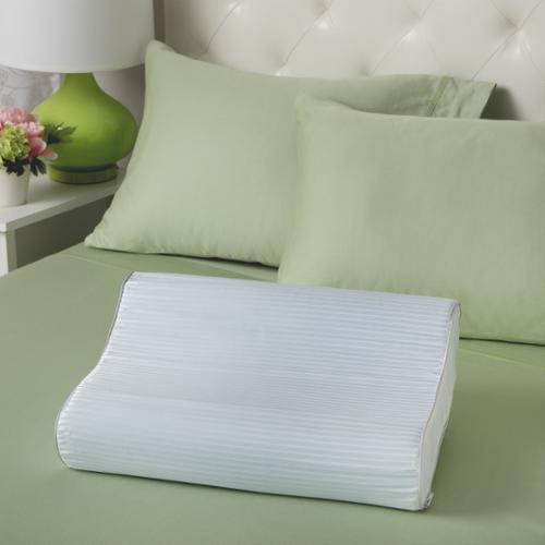 Slumber Solutions  Gel Memory Foam Contour Pillow