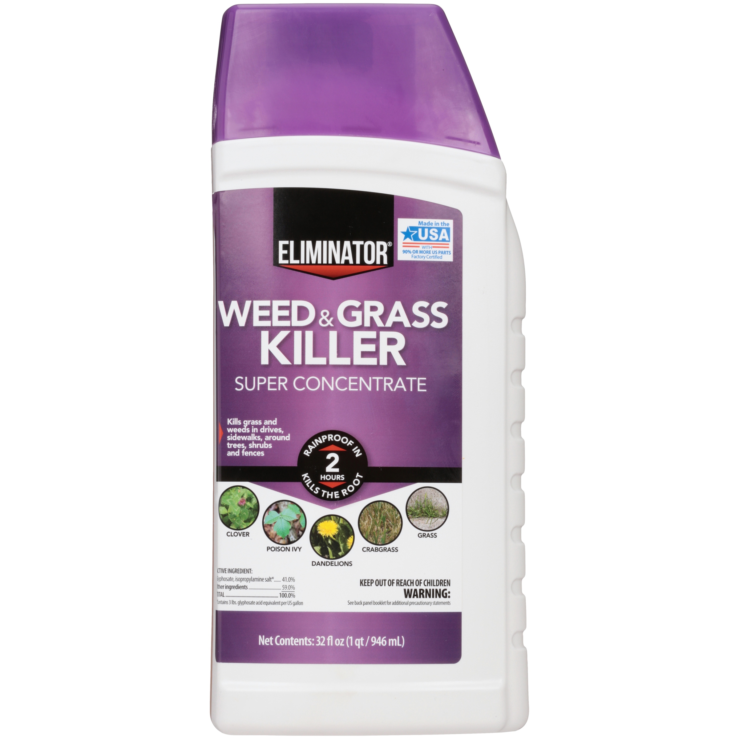 Eliminator Weed And Gr Liquid Super Concentrate 32oz