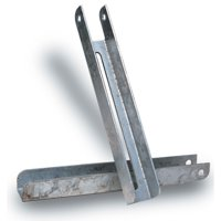 "Tie Down Engineering 86125 Bunk Bracket - 9.5"" Length x 2"" Slot"