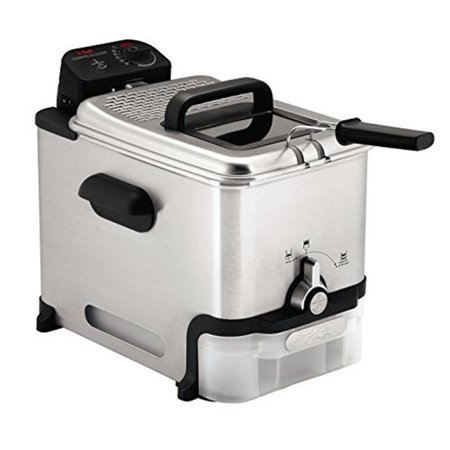 T-Fal FR800050 Ultimate EZ Clean Pro Stainless Steel Immersion Deep Fryer -