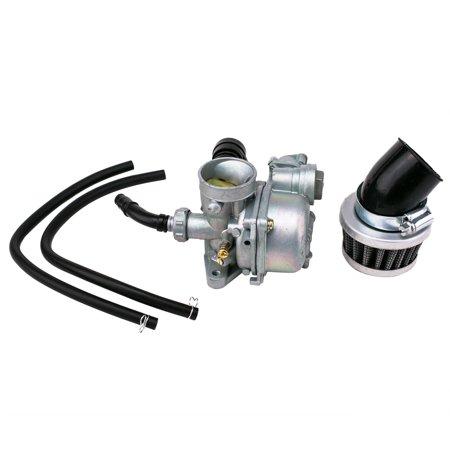 carburetor & air filter for honda atv 3-wheeler atc70 atc 70 - walmart com