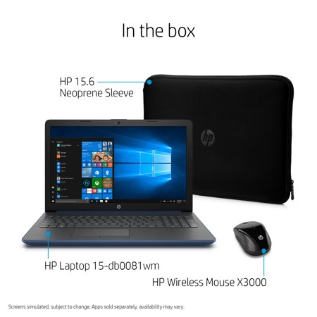 HP 15 Laptop Bundle 15.6