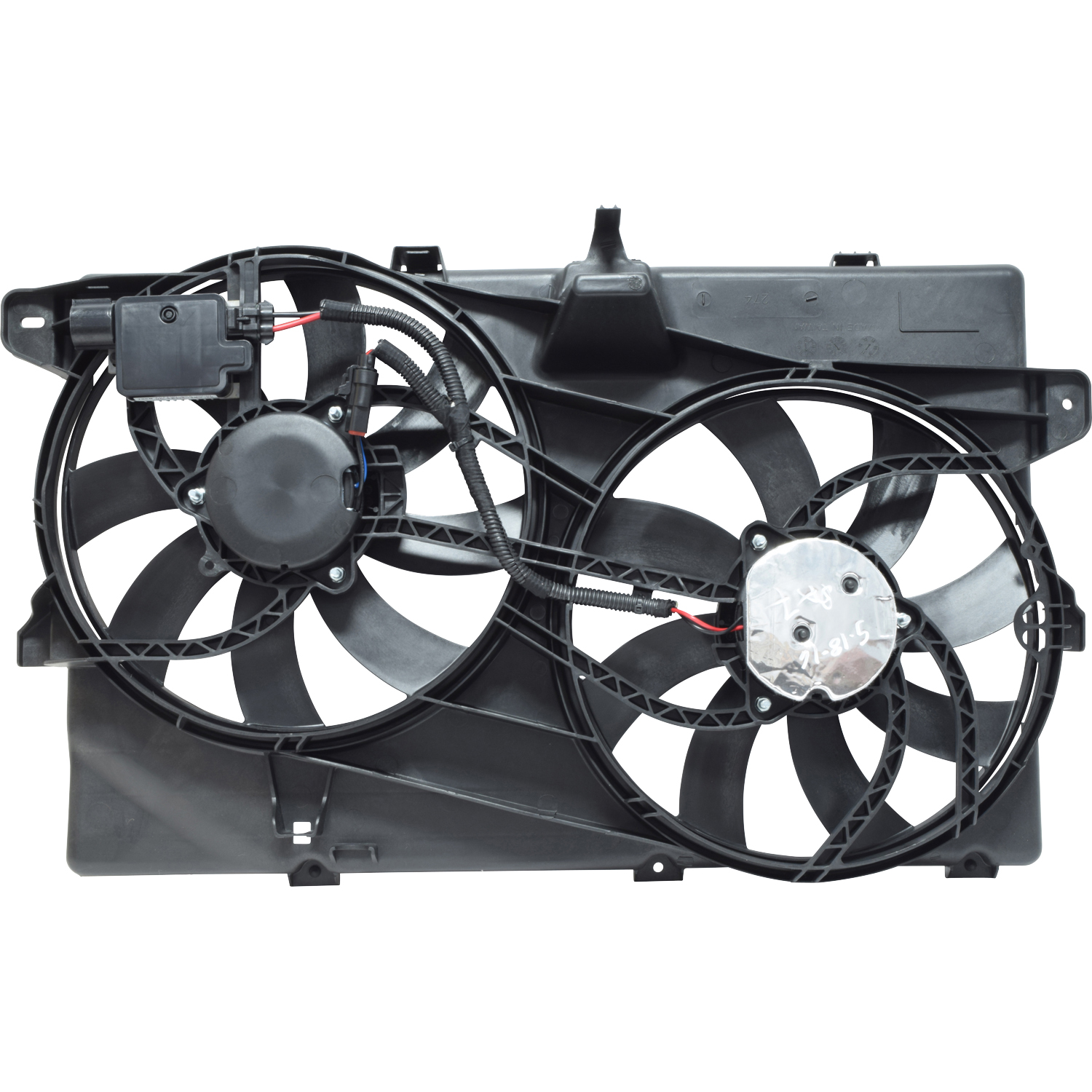 New Cooling Fan Assembly For Ford Edge Lincoln MKX 2007-2014 With Tow Package