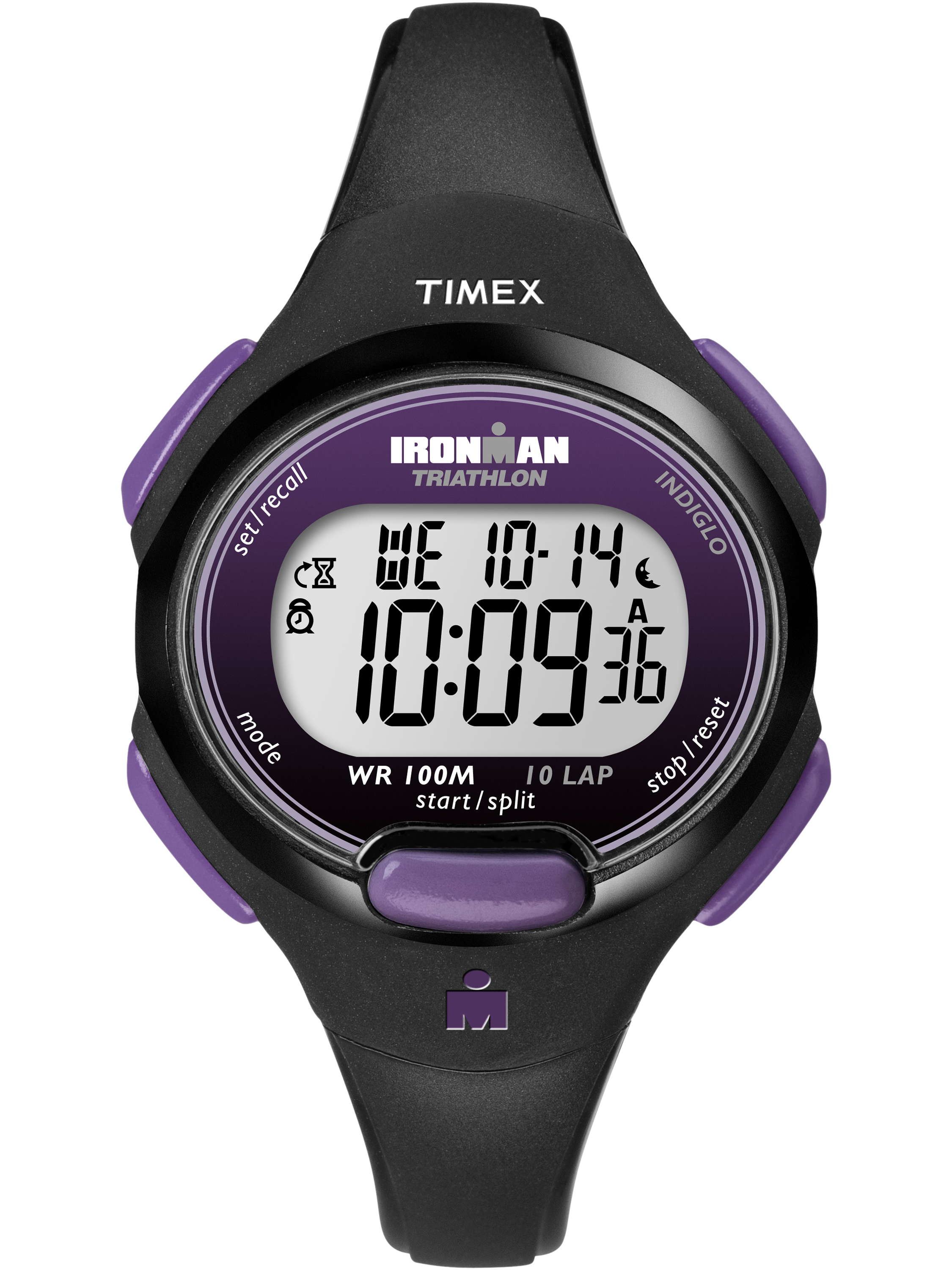Timex Women's Ironman Essential 10 Black Resin Strap Mid-Size Watch