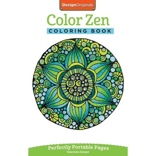 Color Zen Adult Coloring Book: Perfectly Portable Pages