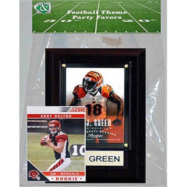Candlcollectables 46LBBENGALS NFL Cincinnati Bengals Party Favor With 4 x 6 Plaque