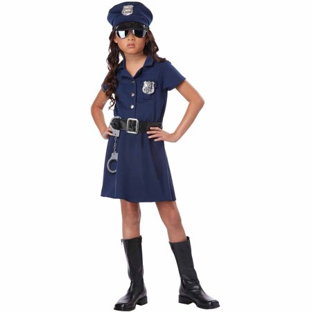 Police Officer Child Halloween Costume