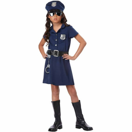 Police Officer Child Halloween Costume
