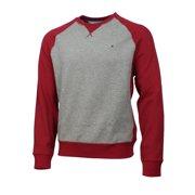 TOMMY HILFIGER Mens Crew Neck Pullover Sweatshirt (Frost Grey, XXL)