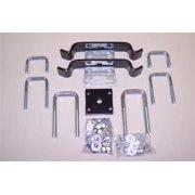 Hellwig LP Mounting Kit 25312 Leaf Spring Helper /Load Leveler Mounting Kits