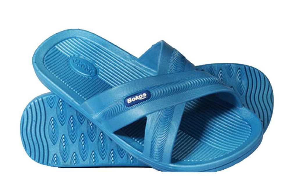 Bokos Women's Sandals Flip Flops Stylish & Comfortable Carolina Blue by Bokos