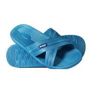 Bokos Women's Sandals/Flip Flops - Stylish & Comfortable - Carolina Blue