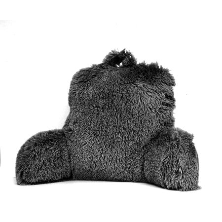 Mainstays Long Hair Faux Fur Backrest Pillow, - Overstuffed Pillow Top Arms