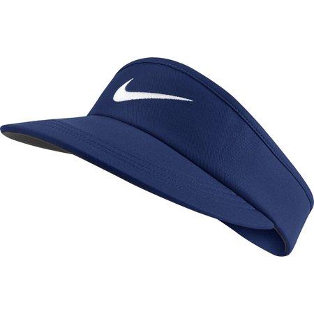 Nike - NEW Nike AeroBill Tall Dark Royal Blue Adjustable Visor Hat Cap -  Walmart.com c73c712b4fd
