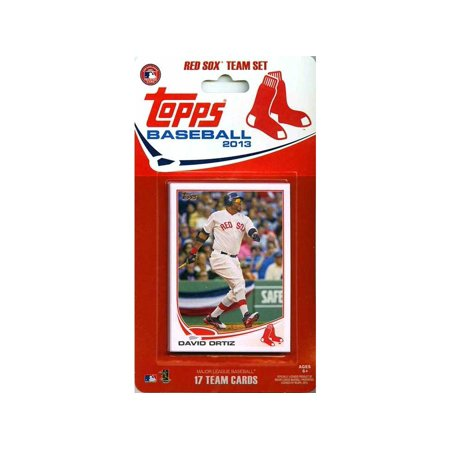 MLB Boston Red Sox Licensed 2013 Team Sets, 2013 World Series Champion  Boston Red Sox Topps Baseball Card Team Set By Topps