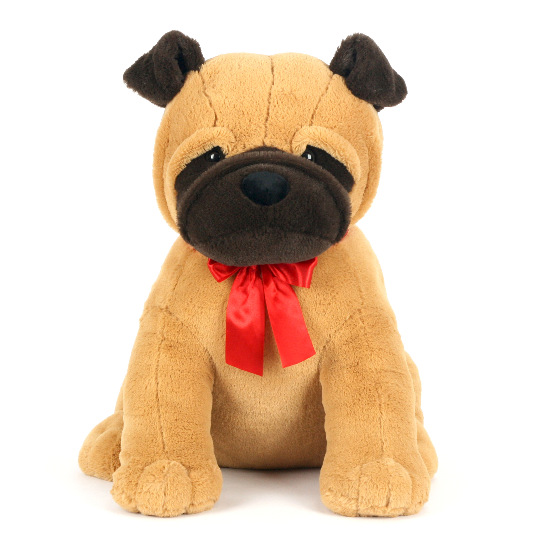 "Way to Celebrate 24"" XL Sitting Puppy Plush Toy, Pug"
