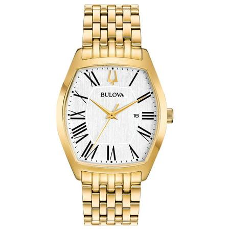 Bulova Women's Classic Ambassador Stainless Steel Gold-Tone Watch