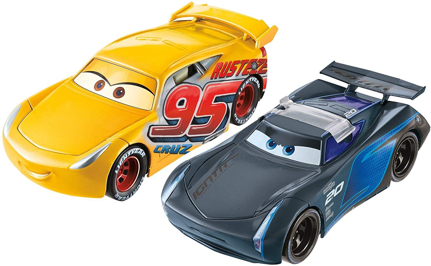 Disney Pixar Cars 3 Flip To The Finish Rust Eze Cruz Ramirez