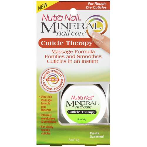 Nutra Nail Mineral Care Collections Cuticle Therapy For General Nails - 0.5 Oz