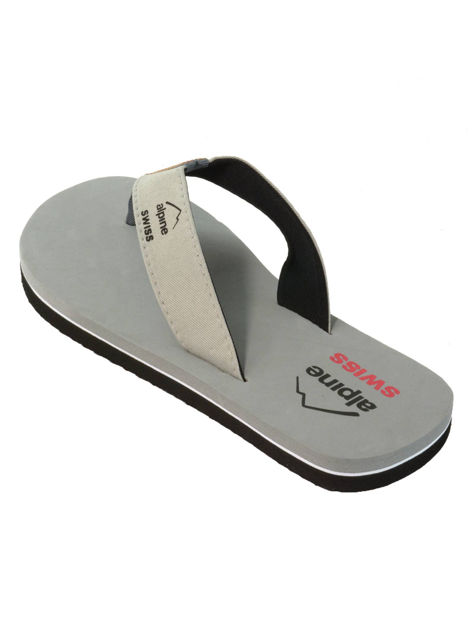 77240fc1090 alpine-swiss - alpine swiss men s flip flops beach sandals lightweight eva  sole comfort thongs - Walmart.com