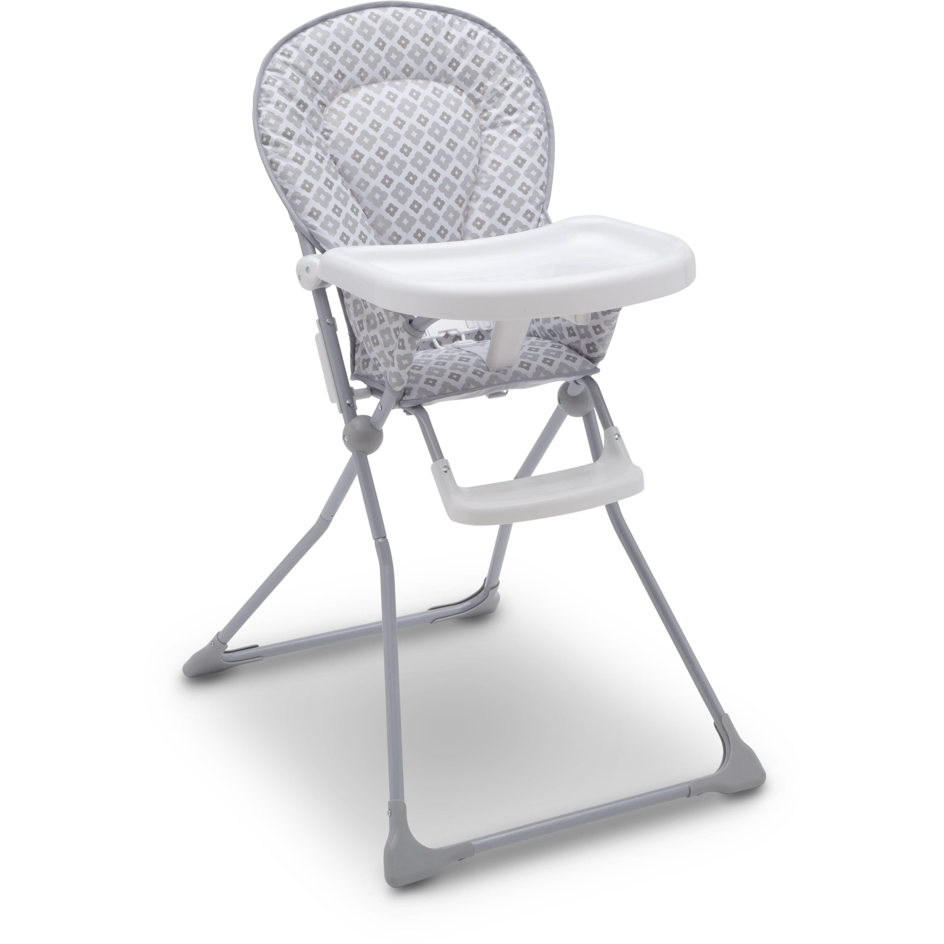 Delta Children's EZ-Fold High Chair - Glacier Metal