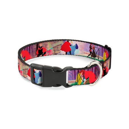 Buckle Down Sleeping Beauty Prince Scenes Plastic Clip Collar Large 1