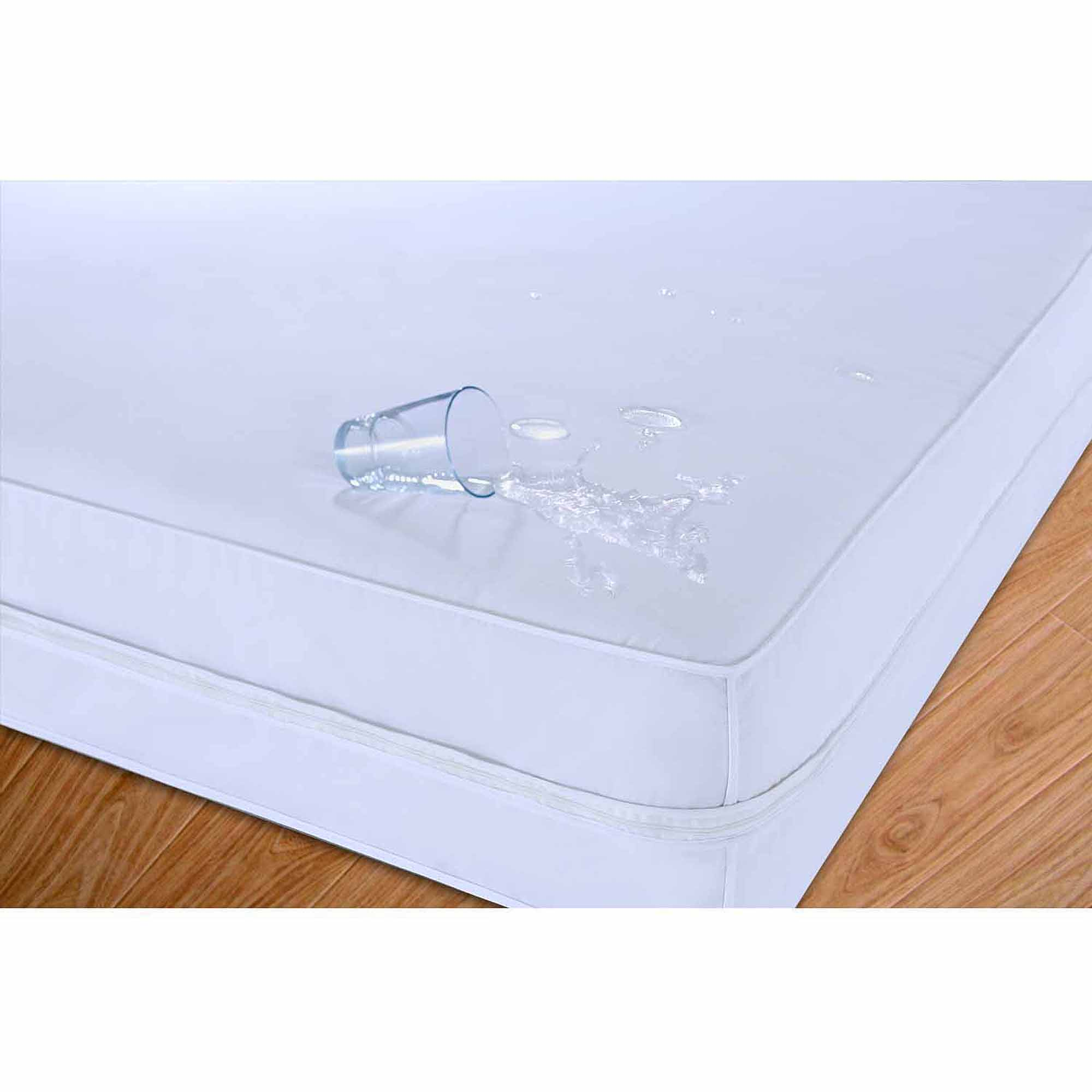 Stayclean Cotton Water- and Stain-Resistant Mattress Protector by Epoch Hometex Inc