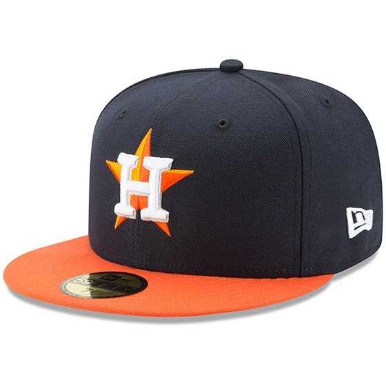 watch 3810c d5961 Houston Astros New Era Youth Authentic Collection On-Field Road 59FIFTY  Fitted Hat - Navy Orange - Walmart.com