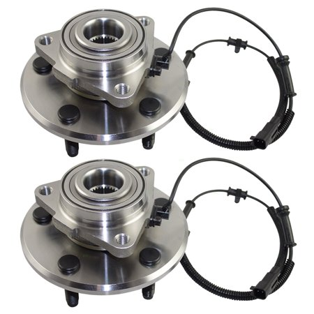Pair Set Front Wheel Hub Bearings Replacement for Dodge Ram 1500 Standard & Crew Cab Pickup Truck 68088025AA 515113