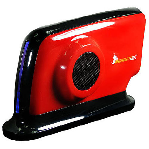 "Hornettek HD308U2SR Hover 3.5"" USB 2.0 Dual Fan External Enclosure, Ferrari Red"