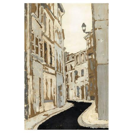 Courtside Market Streets of Paris I Canvas Wall - Paris Street Market