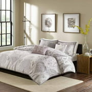 Home Essence Reda 6-Piece Duvet Cover Set