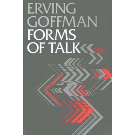 erving goffman role distance and the