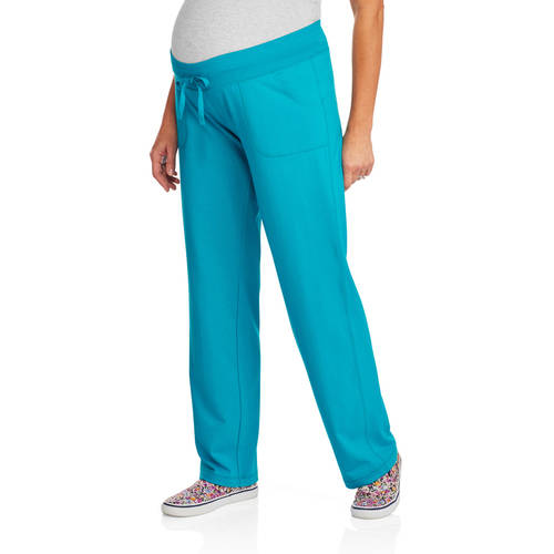 Danskin Now Maternity Knit Pants with Drawstring