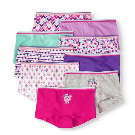ca211e9002b Wonder Nation - Wonder Nation Girls 100% Cotton Boyshort Panty