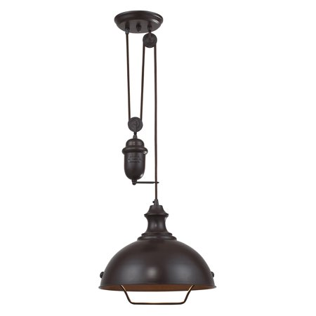 ELK Lighting Farmhouse 65071-1 Pendant - 14W in. - Oiled Bronze