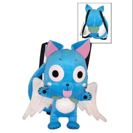 Bag Fairy Tail Happy Plush Back Pack
