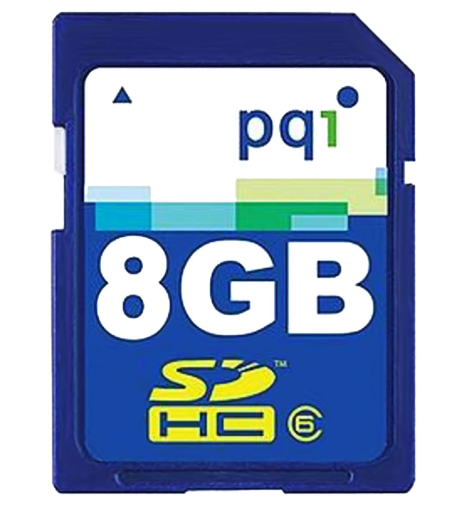 8GB Secure Digital High Capacity (SDHC) Card - (Class 6)