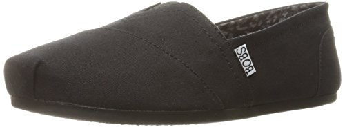 Skechers BOBS Peace from Women's Plush - Peace BOBS and Love Flat, Black, 5 W US 05f51a