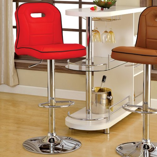Click here to buy Hokku Designs Adjustable Height Swivel Bar Stool by Hokku Designs.