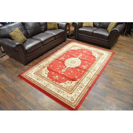 Rug Legend MILANO Traditional Floral 5x8 5x7 Area Rug Persian Oriental 982