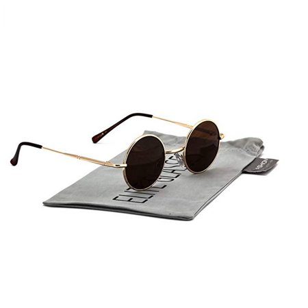 john lennon hipster fashion sunglasses small metal round circle elton style. Black Bedroom Furniture Sets. Home Design Ideas