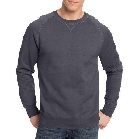Hanes Men's Nano Premium Soft Lightweight Fleece Sweatshirt ...